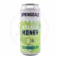 Kölsch Money - 16oz Can