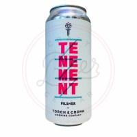 Tenement Pilsner - 16oz Can