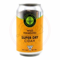 Super Dry Cidah - 12oz Can