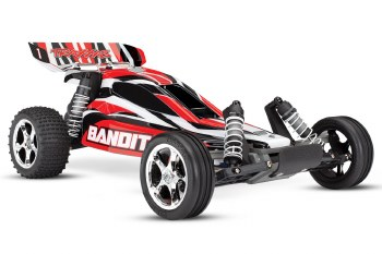 Bandit 2wd Brushed Red