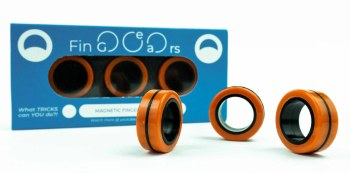 FinGears: Large Orange-Black