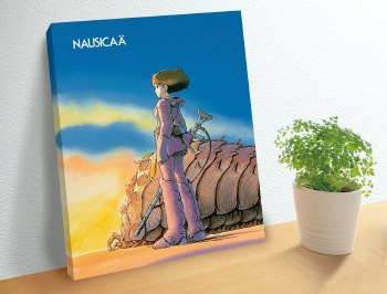 Ohmu and Nausicaa Artboard Puzzle- 366pc