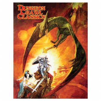 DCC: RPG Quick Start Rules 2020 - Sanjulian Pteradactyl Cover