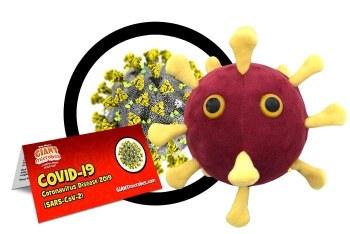 Coronavirus COVID-19 Plush