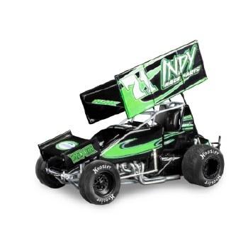 1/24 Joey Saldana #71 Indy Sprint Car w/ Driver