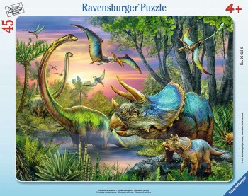 Dinosaurs at Dawn 45pc