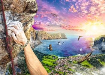Rock Climbing  1000pc