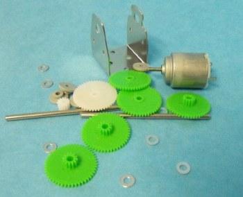 Gear Set & Mount plate