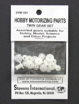 Twin Gear Set - 1.9mm