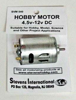 Hobby Motor - 4.5v - 12v DC - Round - for High Endurance