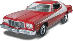 """1/25 """"Starsky & Hutch"""" Ford Torino Plastic Model Kit"""