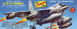 1/128 B-58 Hustler Bomber Model Kit