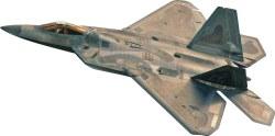 1/72 F-22® Raptor® Plastic Model Kit