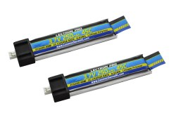 Lectron Pro 3.7V 250mAh 45C Lipo Battery 2-Pack