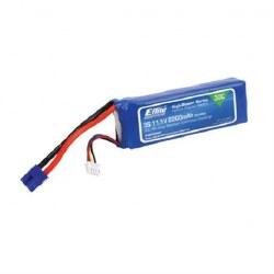 E-Flite LiPo Battery 11.1V 2200mAh 3S 30C 13AWG EC3