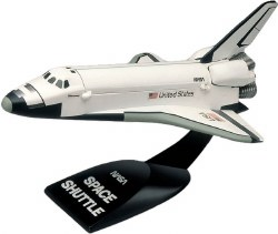 1/200 SnapTite® Space Shuttle Plastic Model Kit