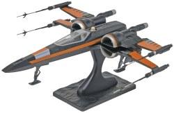 Star Wars POE's X-Wing Fighter Level 2 Plastic Model Kit