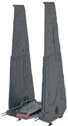 Star Wars Kylo Ren's Command Shuttle Level 2 Plastic Model Kit