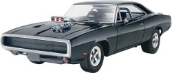 1/25 Fast & Furious Dominic's 1970 Dodge Charger Plastic Model Kit