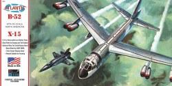1/175 B52 Bomber & X15 Aircraft Plastic Model Kit