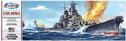 1/535 USS Iowa WWII Battleship Plastic Model Kit