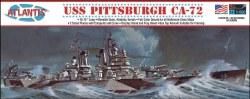 1/490 USS Pittsburgh CA-72 Heavy Crusier Plastic Model Kit