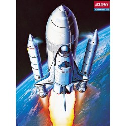 1/288 Space Shuttle w/Boosters (SnapTite) Plastic Model Kit