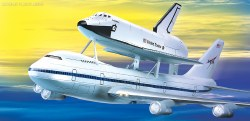 1/288 Space Shuttle & 747 Carrier Plastic Model Kit