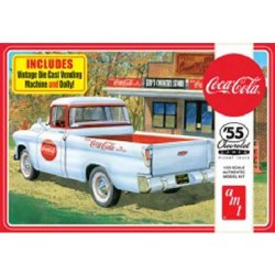 1/25 1955 Chevy Camero Coca-Cola Pickup Plastic Model Kit