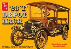1/25 1923 Ford T Depot Hack Plastic Model Kit