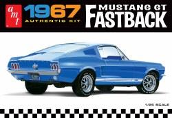 1/24 1967 Ford Mustang GT Fastback Plastic Model Kit