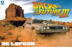 1/24 DeLorean Car from Back to the Future III