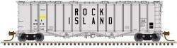 Rock Island Airslide Covered Hopper #8848