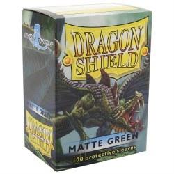 Dragon Shield - Matte Green (100)
