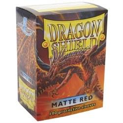 Dragon Shield - Matte Red (100)