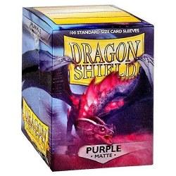 Dragon Shield - Matte Purple (100)