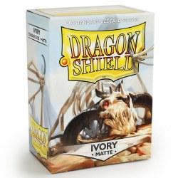 Dragon Shield - Matte Ivory (100)