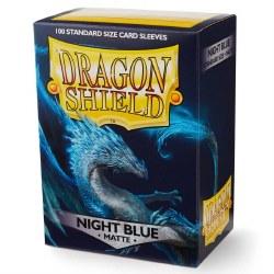 Dragon Shield - Matte Night Blue (100)