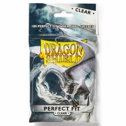 Dragon Shield: Perfect Fit Clear Inner Card Sleeves