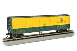 Chicago & Northwestern - 50' Steel Reefer Car - HO Scale