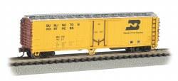 Burlington Northern - ACF 50' Steel Reefer Car - N Scale