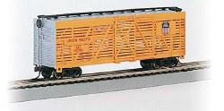 Union Pacific - 40' Rail Stock Car - HO Scale