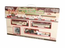 Norman Rockwell's American Christmas Train Set,  On30 Scale