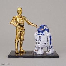 Star Wars: 1/12 C-3PO & R2-D2 Plastic Model Kit