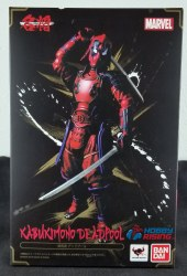 Kabukimono Deadpool Meisho Manga Realization Model Kit