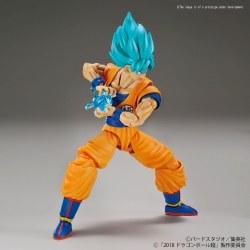 Dragon Ball S: Super Saiyan GSSS GoKu Figure (color)
