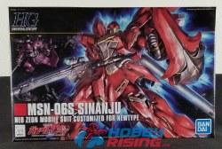 1/144 #116 Sinanju MSN-06S Gundam HG Model Kit