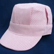 Engineer Cap, Adult/ Pink