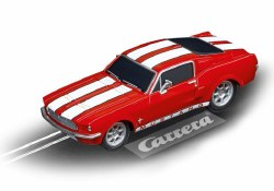 GO!: Ford Mustang '67 - Red Slot Car