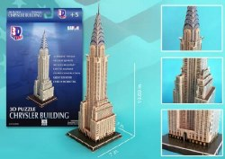 Chrysler Building 3D Foam 70pc